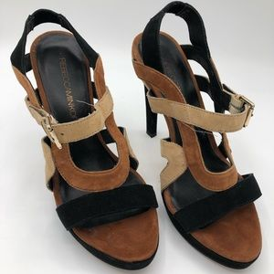 Rebecca Minkoff size 6M real leather heals